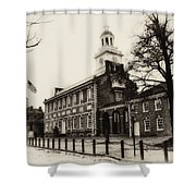 The Birthplace Of Freedom Shower Curtain by Bill Cannon