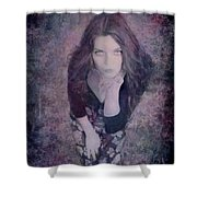 The Blown Kiss Shower Curtain by Loriental Photography