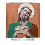 The Bread Of Life Shower Curtain by Anthony Falbo