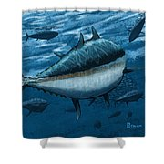 The Chase Shower Curtain by Kevin Putman