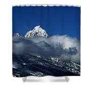 The Clearing Storm Shower Curtain by Raymond Salani III