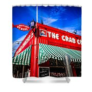 The Crab Cooker Newport Beach Photo Shower Curtain by Paul Velgos