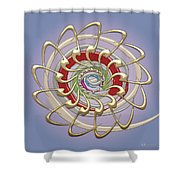The Creation Shower Curtain by Serge Averbukh