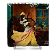 The Dancer Act 1 Shower Curtain by Bedros Awak