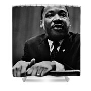 The Dreamer Shower Curtain by Benjamin Yeager