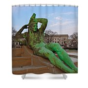 The Dry Season Shower Curtain by Bill Cannon