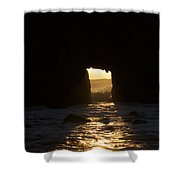 The End Of A Day Shower Curtain by Suzanne Luft