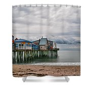 The End Of The Season Shower Curtain by Guy Whiteley