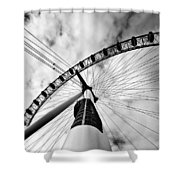 The Eye Shower Curtain by Jorge Maia