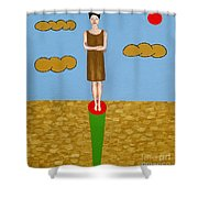 The Fame Game Shower Curtain by Patrick J Murphy