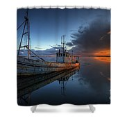 The Guiding Light Shower Curtain by English Landscapes