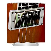 The Guitar Shower Curtain by David Patterson