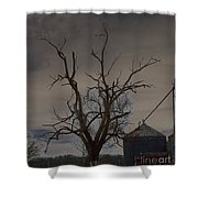 The Haunting Tree Shower Curtain by Alys Caviness-Gober