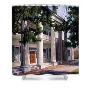 The Hermitage Shower Curtain by Janet King