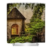 The Hideaway Shower Curtain by Lois Bryan