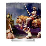 The Homecoming Shower Curtain by Ronald Chambers