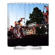 The Kingpins II Shower Curtain by David Patterson