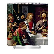 The Last Supper Shower Curtain by French School