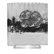 The Loch Shower Curtain by Eric Glaser