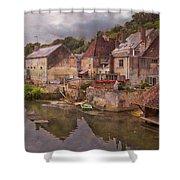 The Loir River Shower Curtain by Debra and Dave Vanderlaan