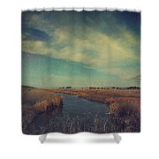 The Love We Give Shower Curtain by Laurie Search
