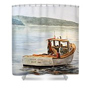 The Lyllis Esther Shower Curtain by Lee Piper