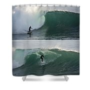 The Maestro Of Middle Peak Shower Curtain by Bruce Frye