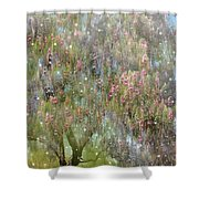 The Magic Tree 5 Shower Curtain by Kume Bryant