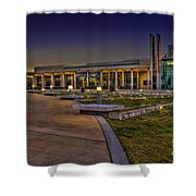 The Mahaffey Theater Shower Curtain by Marvin Spates