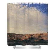 The Miles Between Us Shower Curtain by Laurie Search
