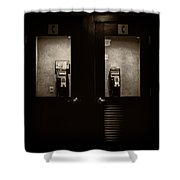 The Near Future's Historical Curiosities Shower Curtain by Trever Miller