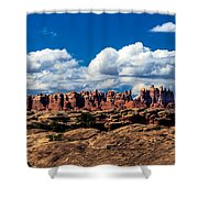 The Needles Shower Curtain by Robert Bales