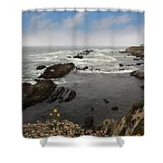 The Ocean's Call Shower Curtain by Laurie Search