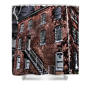 The Old Jail Shower Curtain by Dan Stone