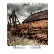 The Old Mine Shower Curtain by Adrian Evans