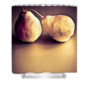 The Pair Shower Curtain by Jan Bickerton