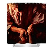 The Potter Shower Curtain by Michael Pickett
