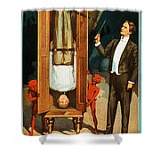 The Prisoner Of Canton Shower Curtain by The  Vault - Jennifer Rondinelli Reilly