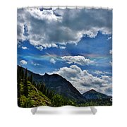 The Rare Phenomena Rainbows Shower Curtain by Janice Rae Pariza