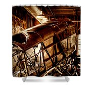 The Red Barn of the Boeing Company II Shower Curtain by David Patterson