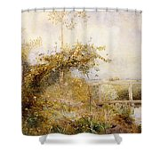 The Return from the Harvest Field Shower Curtain by John William North