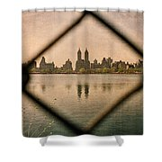 The San Remo Shower Curtain by Joann Vitali