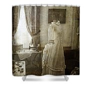 The Sewing Room Shower Curtain by Cindi Ressler