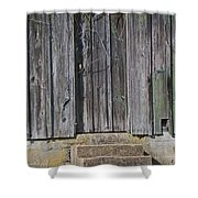 The Side Door Shower Curtain by Skip Willits