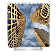The Sky Is The Limit Shower Curtain by Ron Shoshani