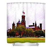 The Smithsonian Shower Curtain by Bill Cannon