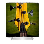The Soundgear Guitar By Ibanez Shower Curtain by David Patterson