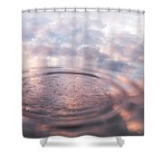 The Sounds Of Silence. Sacred Music Shower Curtain by Jenny Rainbow