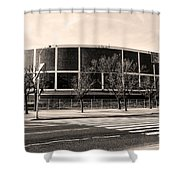 The Spectrum In Philadelphia Shower Curtain by Bill Cannon
