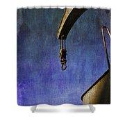 The Steam Crane Shower Curtain by Brian Roscorla